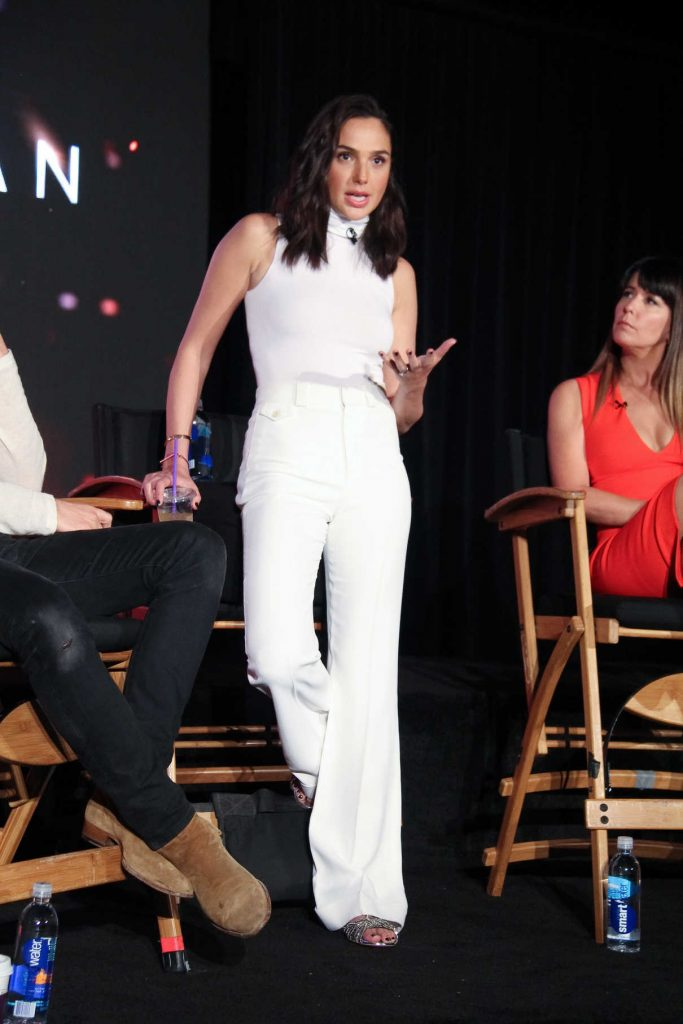 Gal Gadot at the Wonder Woman Press Conference in Culver City 05/21/2017-1