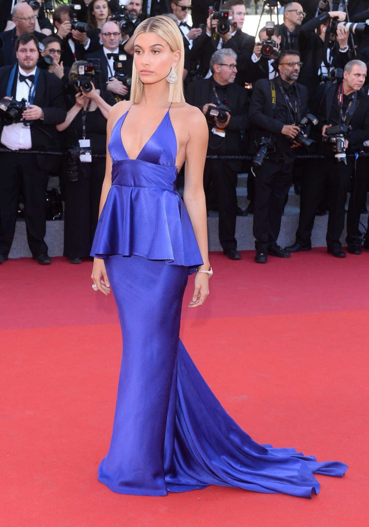 Hailey Baldwin at the 70th Cannes Film Festival Opening Ceremony in France 05/17/2017-1
