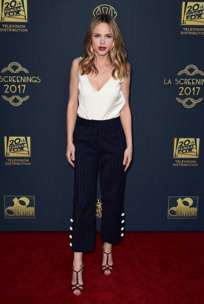 Halston Sage at the Twentieth Century Fox Television Los Angeles Screening Gala 05/25/2017-1