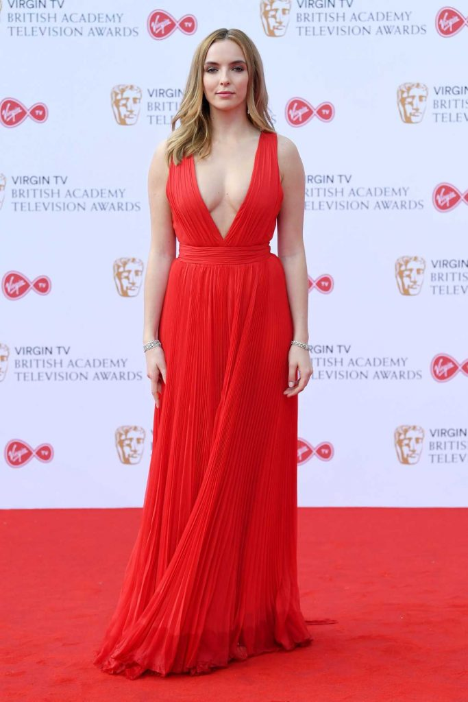 Jodie Comer at the 2017 British Academy Television Awards in London 05/14/2017-1