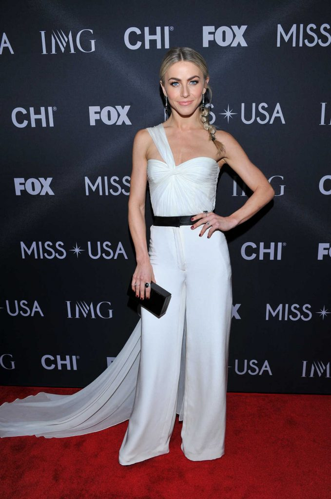 Julianne Hough at the 2017 Miss USA in Las Vegas 05/14/2017-1
