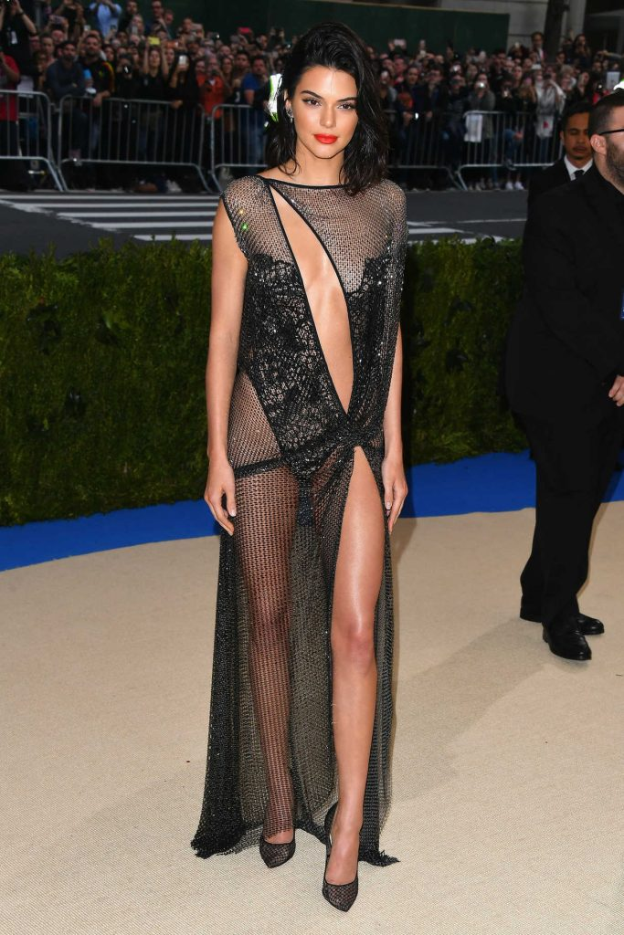 Kendall Jenner at the 2017 Met Gala at The Metropolitan Museum of Art in New York 05/01/2017-1