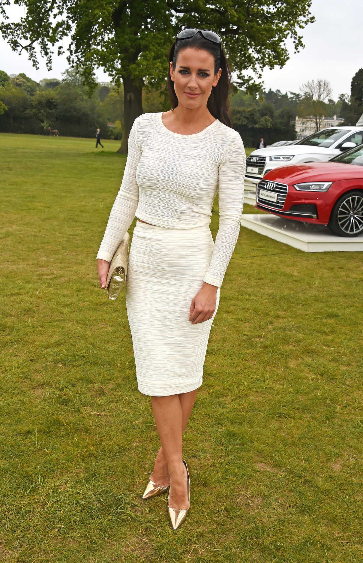 Kirsty Gallacher At Audi Polo Challenge In Ascot 05 06