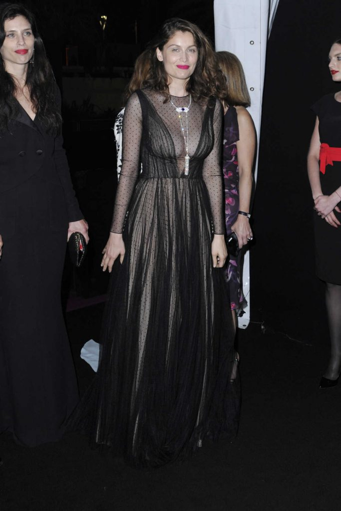Laetitia Casta at the 70th Anniversary Dinner During the 70th Cannes Film Festival 05/23/2017-1