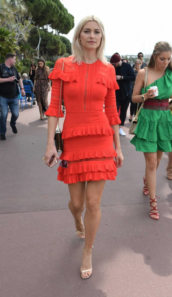 Lena Gercke Was Seen Out in Cannes During the 70th Cannes Film Festival 05/18/2017-1