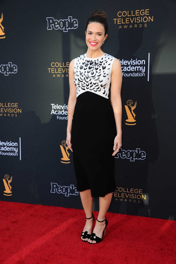 Mandy Moore at the 38th Annual College Television Awards in Los Angeles 05/24/2017-1