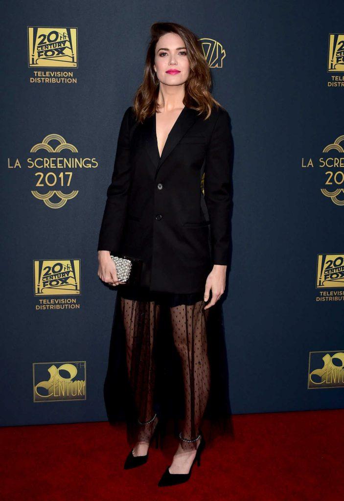 Mandy Moore at the Twentieth Century Fox Television Los Angeles Screening Gala 05/25/2017-1