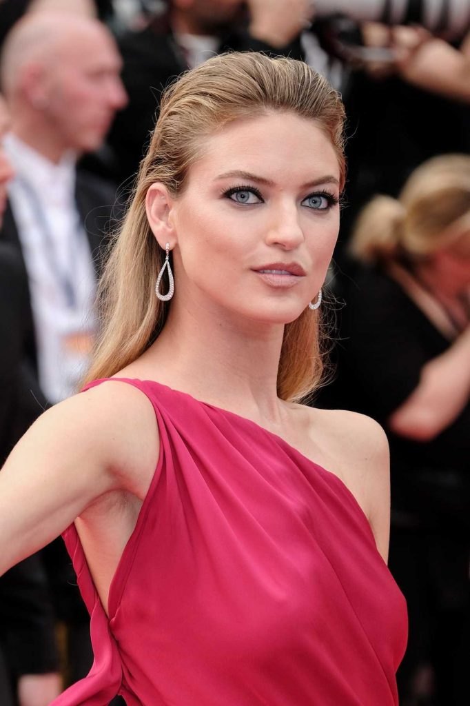 Martha Hunt at The Double Lover Premiere During the 70th Annual Cannes Film Festival 05/26/2017-1