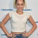 Miley Cyrus Visits the SiriusXM Studios in Los Angeles 05/12/2017-3