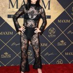 Amelia Hamlin Arrives to The Maxim Hot 100 Event in Hollywood 06/24/2017