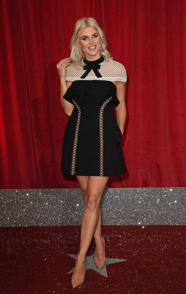 Ashley James at the 2017 British Soap Awards in Manchester 06/03/2017-1