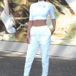 Bella Hadid Wears All White Out in Paris 06/10/2017-2