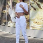 Bella Hadid Wears All White Out in Paris 06/10/2017-3