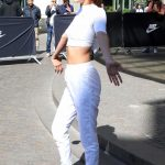 Bella Hadid Wears All White Out in Paris 06/10/2017-4
