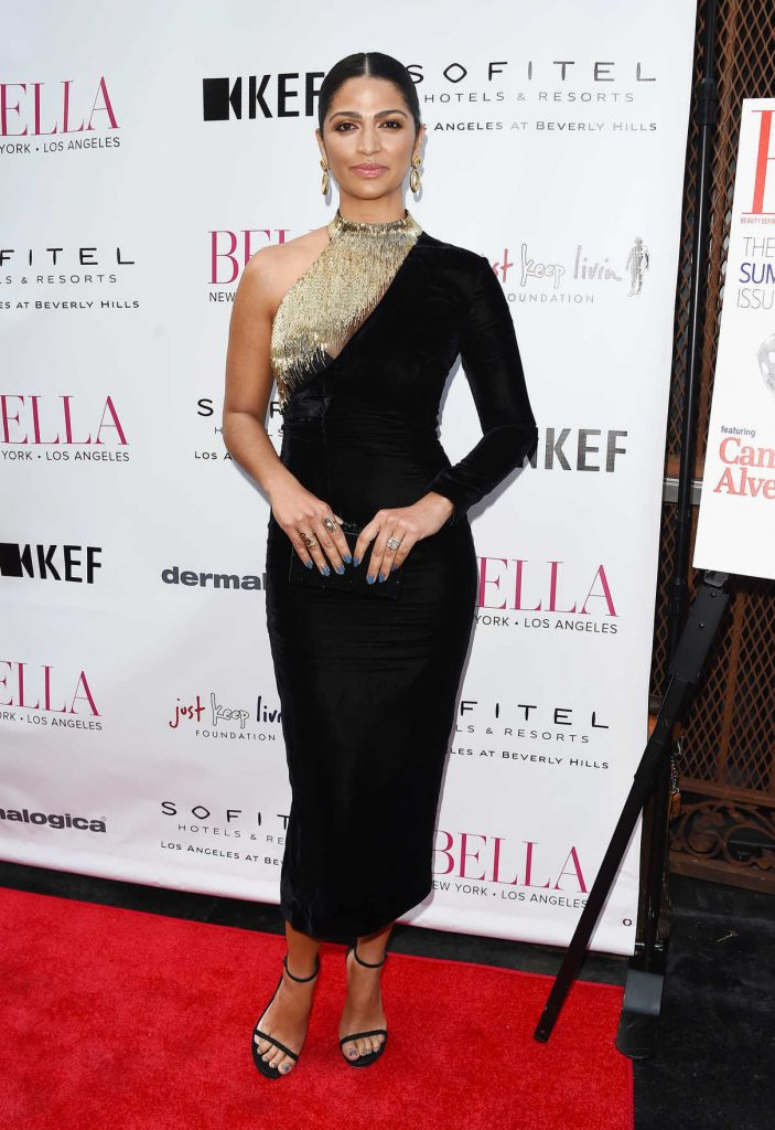 Camila Alves at the Bella LA Summer Issue Cover Party in Beverly Hills 06/23/2017-1