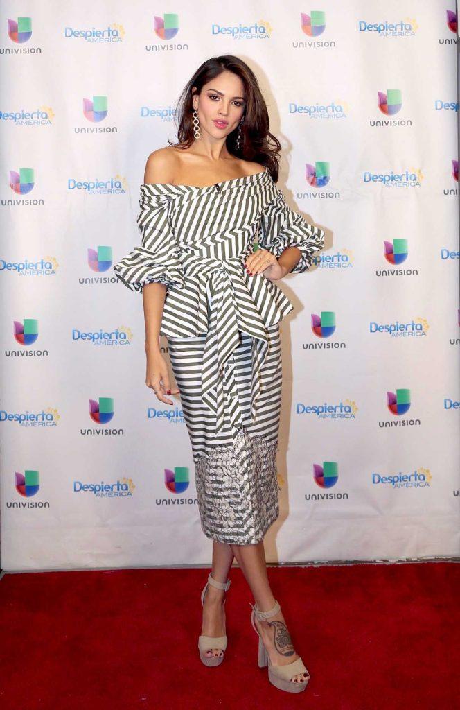 Eiza Gonzalez at the Despierta America Morning Show in Miami 06/17/2017-1