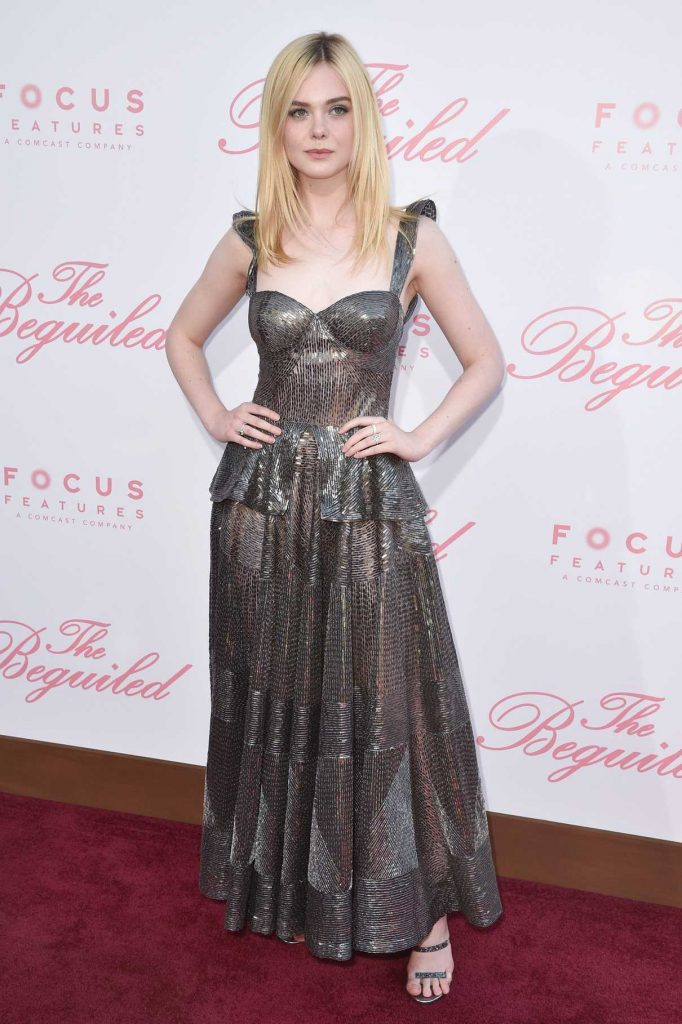 Elle Fanning at The Beguiled Premiere in Los Angeles 06/12/2017-1
