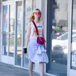 Elle Fanning Grabs a Lunch at El Pollo Loco in LA 06/27/2017-3