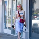 Elle Fanning Grabs a Lunch at El Pollo Loco in LA 06/27/2017-5