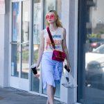 Elle Fanning Grabs a Lunch at El Pollo Loco in LA 06/27/2017-5