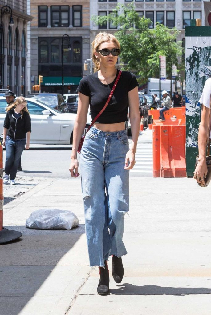 Gigi Hadid Was Seen Out in NY 06/28/2017-1