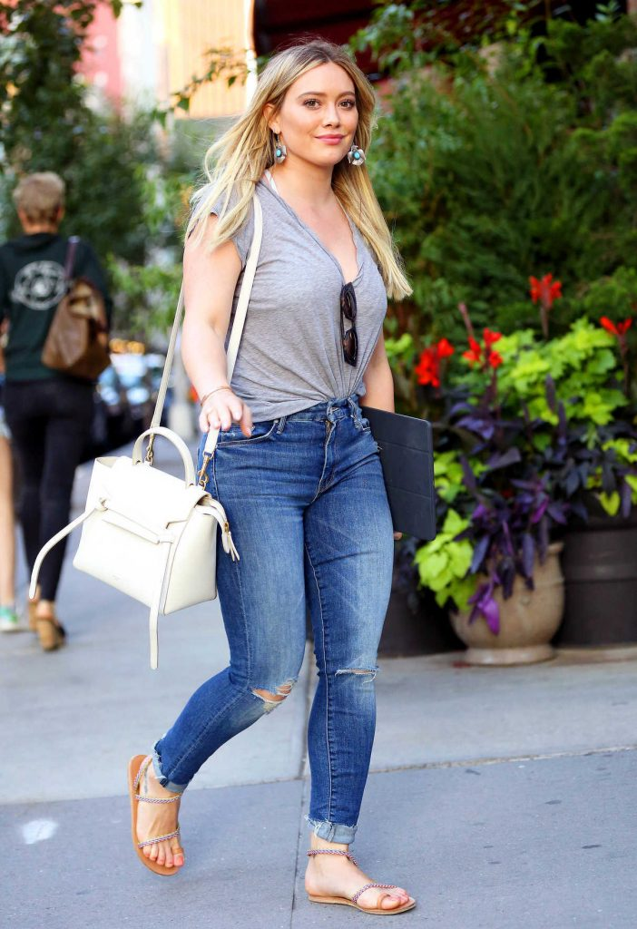 Hilary Duff Was Seen Out in NYC 06/27/2017-1