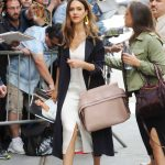 Jessica Alba Arrives at The View in New York 06/15/2017-2