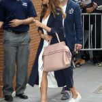 Jessica Alba Arrives at The View in New York 06/15/2017-5