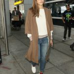 Jessica Alba at JFK Airport in New York City 06/14/2017-3