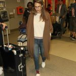 Jessica Alba at JFK Airport in New York City 06/14/2017-4