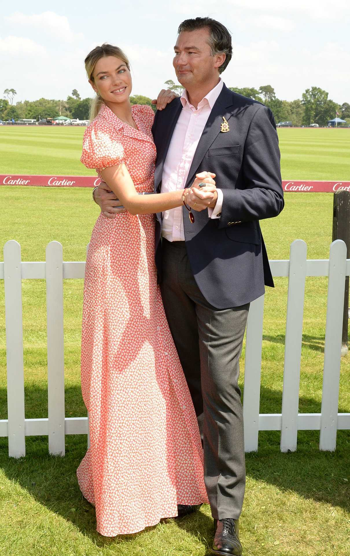 Jessica Hart at the Cartier Queen's Cup Polo Final in Surrey 06/18/2017-4