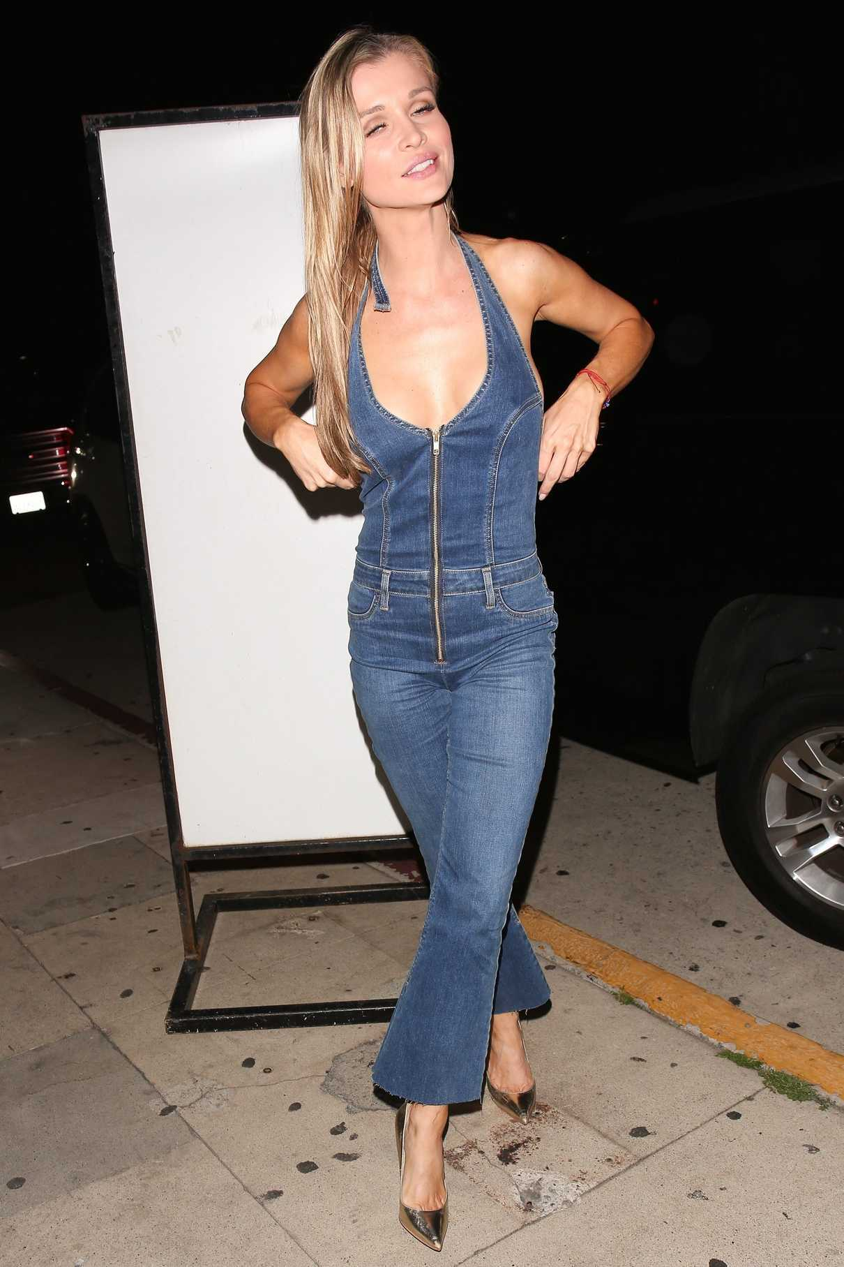 Joanna Krupa Arrives at Giorgio Baldi Restaurant in Santa Monica 06/17/2017-3