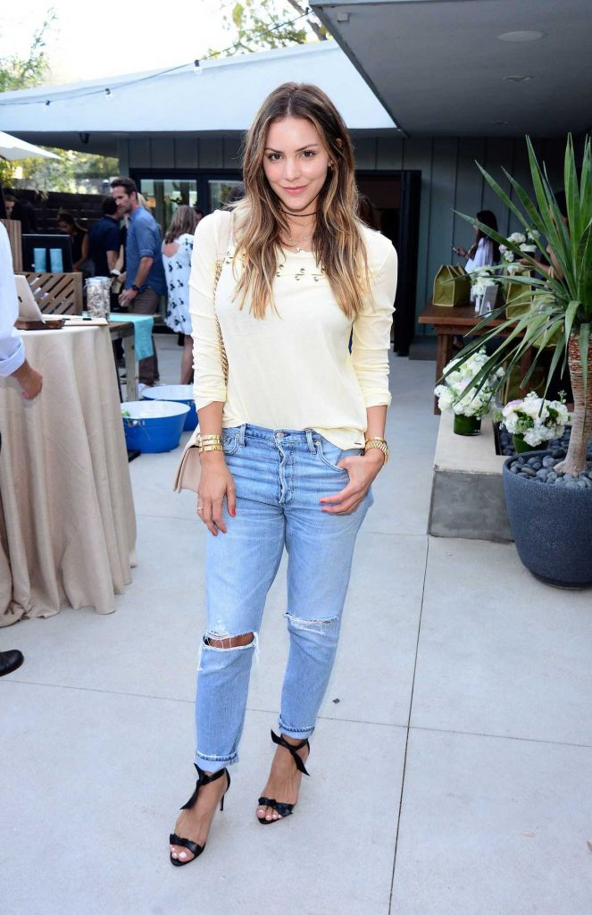 Katharine McPhee at the N:Philanthropy Give Back Garden Party in Los Angeles 06/28/2017-1