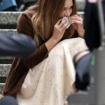 Katharine McPhee on the Set of The Lost Wife of Robert Durst in Vancouver 06/17/2017-4