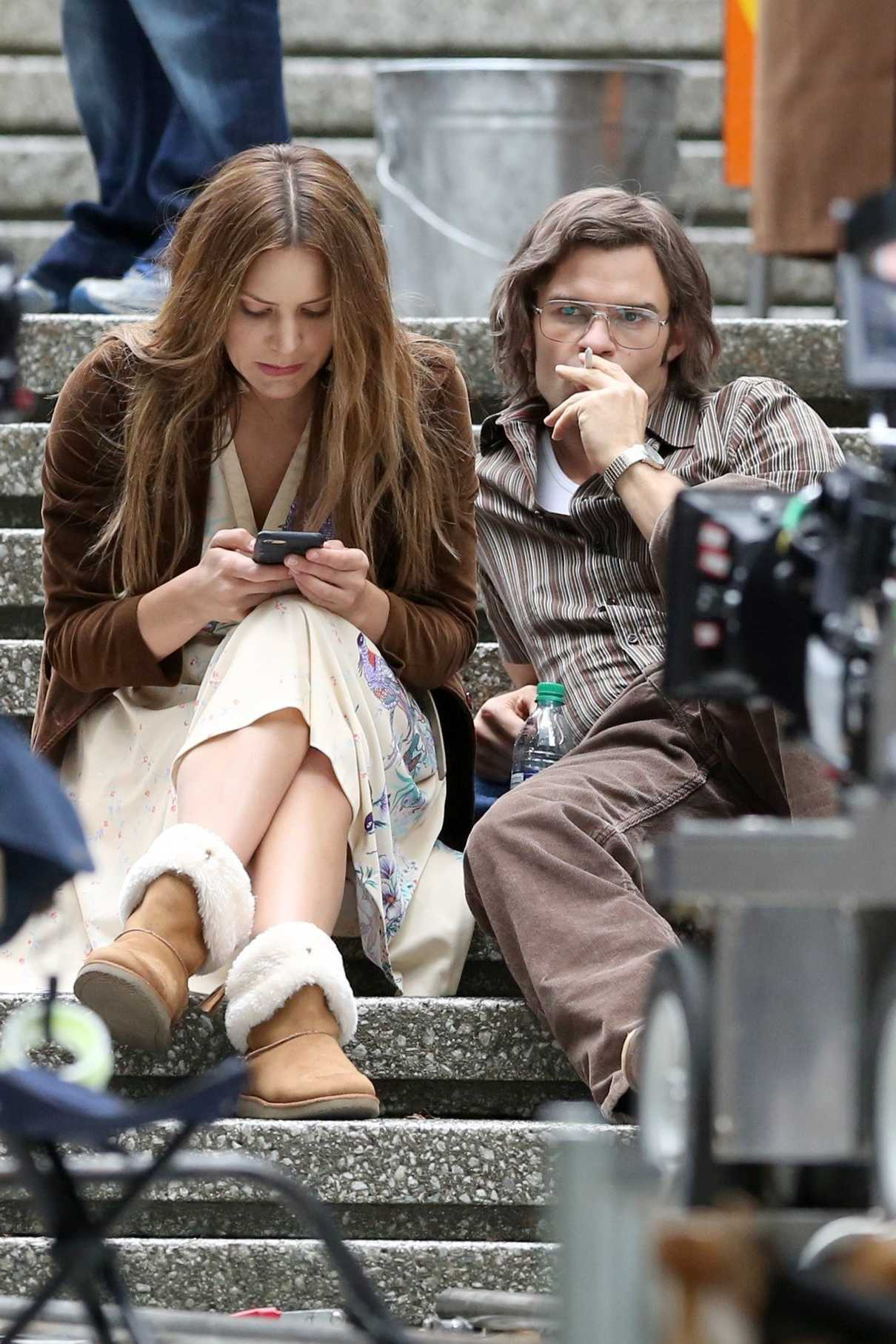 Katharine McPhee on the Set of The Lost Wife of Robert Durst in Vancouver 06/17/2017-5
