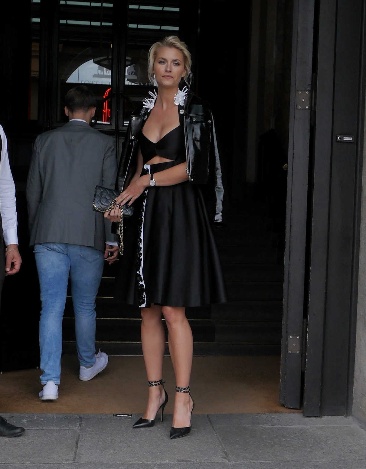Lena Gercke Was Seen Out in Berlin 06/13/2017-2