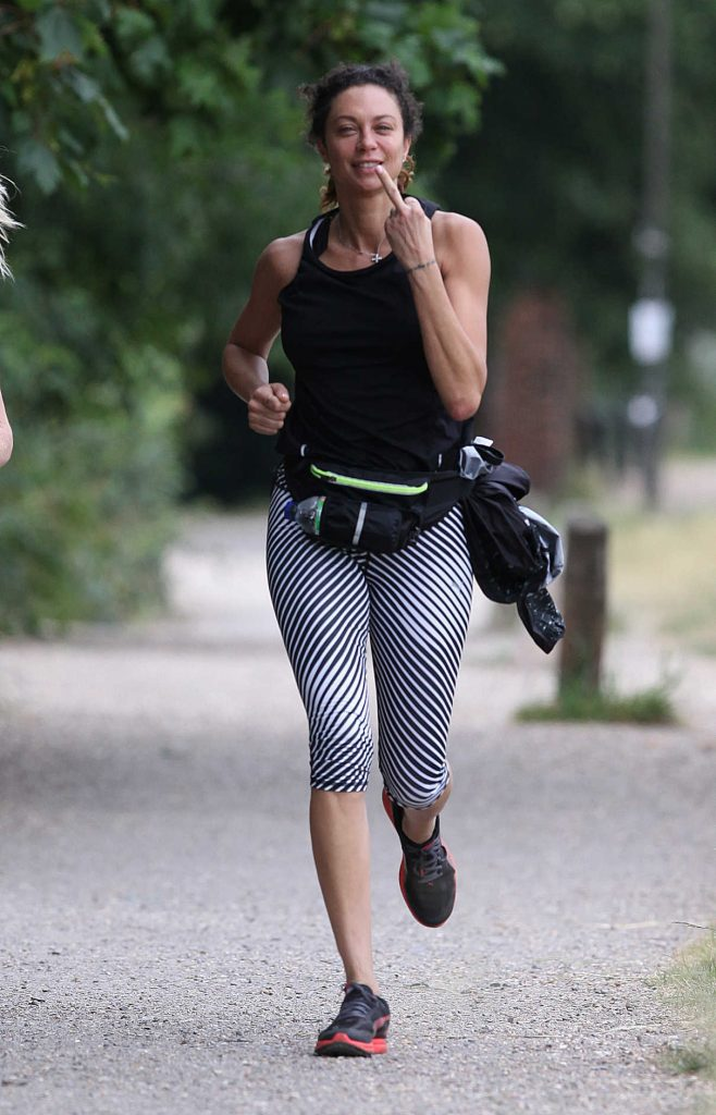 Lilly Becker Goes for a Morning Jog in London 06/27/2017-1