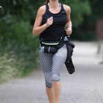 Lilly Becker Goes for a Morning Jog in London 06/27/2017-3