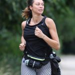 Lilly Becker Goes for a Morning Jog in London 06/27/2017-5