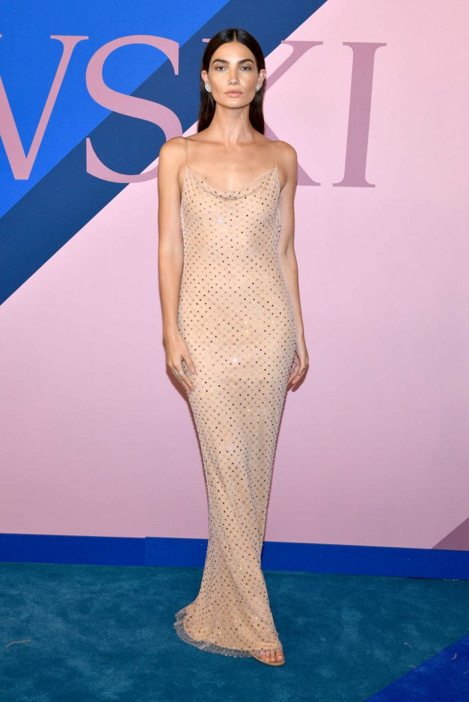 Lily Aldridge at the CFDA Fashion Awards in New York 06/05/2017-1