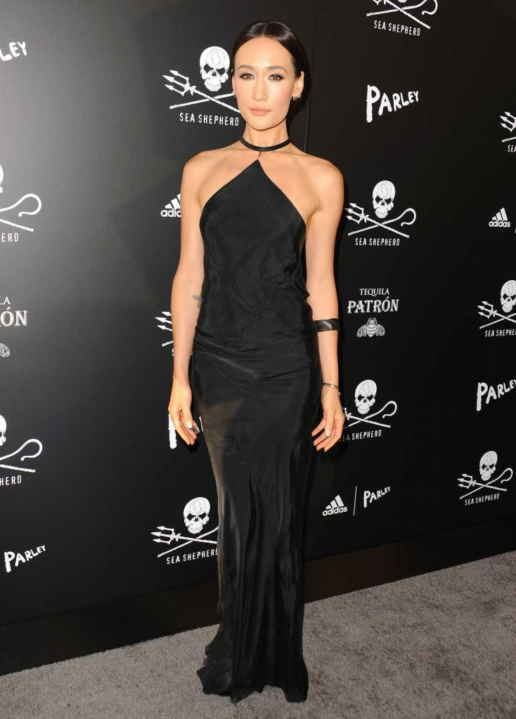 Maggie Q at the Sea Shepherd Conservation Society's 40th Anniversary Gala for The Oceans in Los Angeles 06/10/2017-1