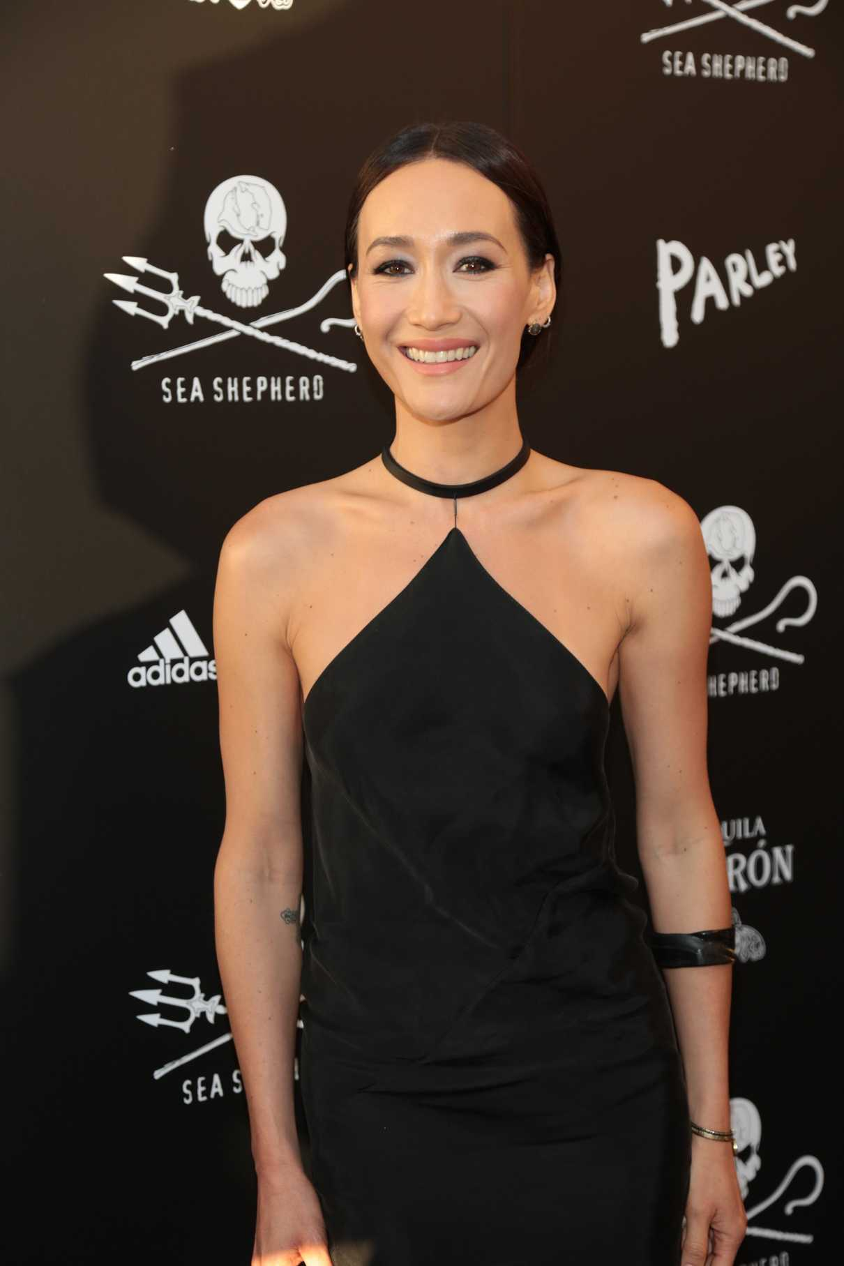 Maggie Q at the Sea Shepherd Conservation Society's 40th Anniversary Gala for The Oceans in Los Angeles 06/10/2017-3