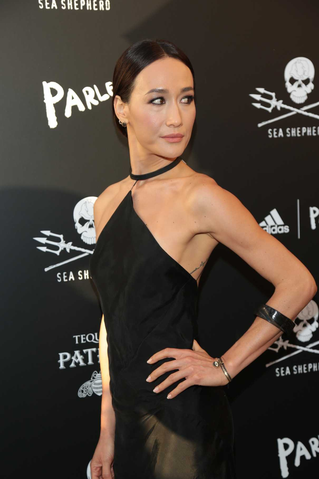 Maggie Q at the Sea Shepherd Conservation Society's 40th Anniversary Gala for The Oceans in Los Angeles 06/10/2017-4