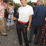 Victoria Beckham Attends British Vogue Editor Alexandra Shulman Vogue Leaving Party at Dock Kitchen in London 06/22/2017-2