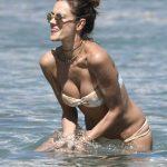 Alessandra Ambrosio in Bikini at the Beach in Mykonos 07/05/2017-2