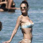 Alessandra Ambrosio in Bikini at the Beach in Mykonos 07/05/2017-4