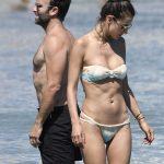 Alessandra Ambrosio in Bikini at the Beach in Mykonos 07/05/2017-5