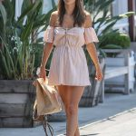Alessandra Ambrosio Was Seen Out in Brentwood 07/26/2017-3