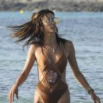 Alessandra Ambrosio Wears a Swimsuit at the Beach in Formentera 07/11/2017-3