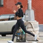 Bella Hadid Out for a Jog in NYC 07/24/2017-2
